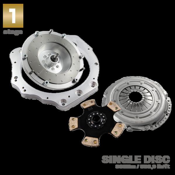 Gearbox Adapter Plate Toyota UZ 1UZ 3UZ - Mazda RX7 FD | GEARBOX