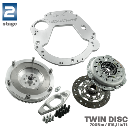 PMC Motorsport turn angle adapters Lexus IS 200 IS 300 / Toyota Altezza/ Toyota Altezza Gita +30% (Lock Kit / Steering Lock Adapters) / Black